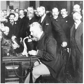 alexander Graham bell telefonda